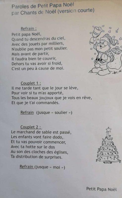 Chorale Petit Papa Noël école Française Internationale De Canton