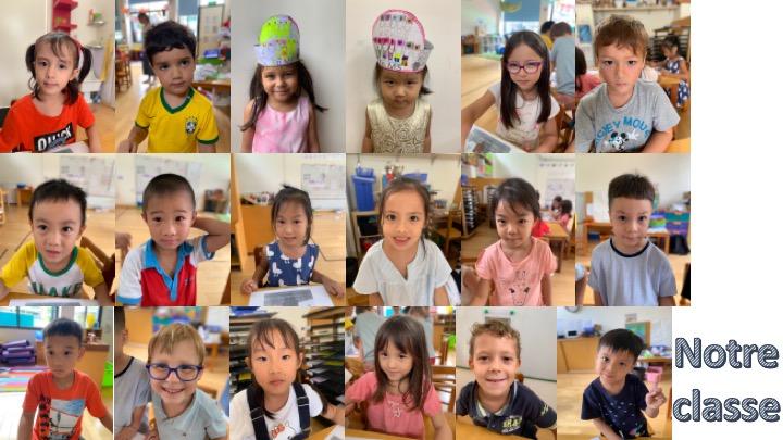 En cette année de MS et GS, les enfants vous souhaitent une bonne rentrée.